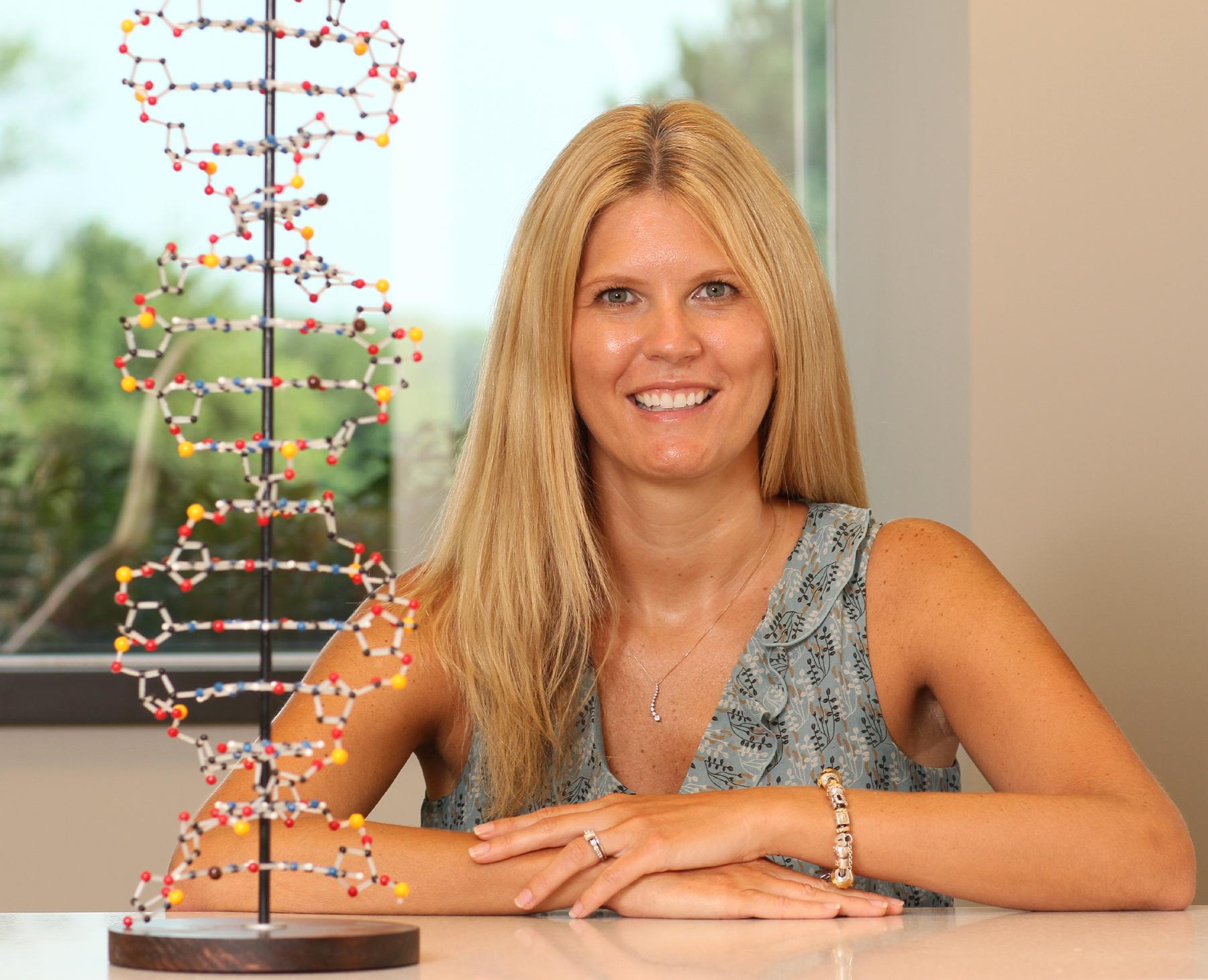 Heather Hampel, MS, LGC